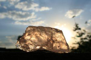 pierre de quartz