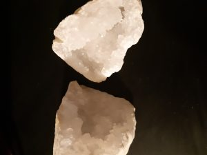 géode à ouvrir quartz
